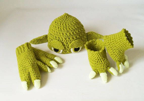 Yoda Baby Costume Crochet Pattern