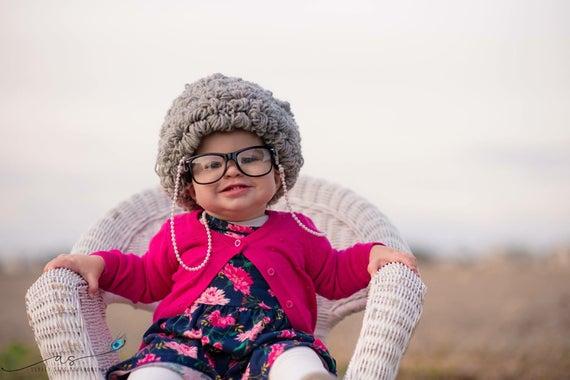 Old Lady Wig Crochet Pattern
