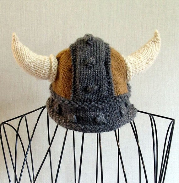 Viking Hat Knitting Pattern