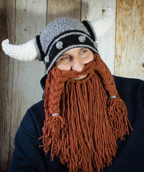 Crochet Viking Helmet pattern