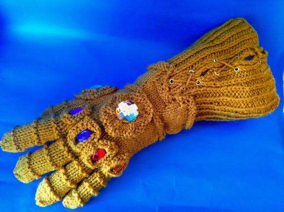 Thanos Infinity Gauntlet Knitting Pattern