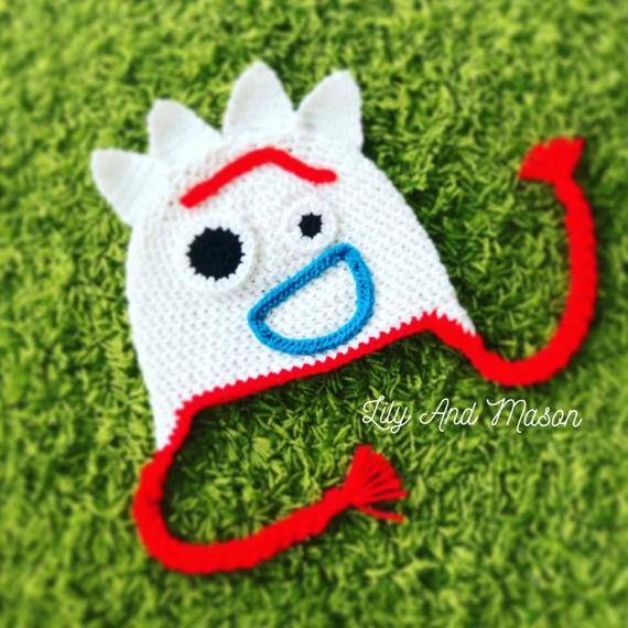 Forky Crochet Hat Pattern