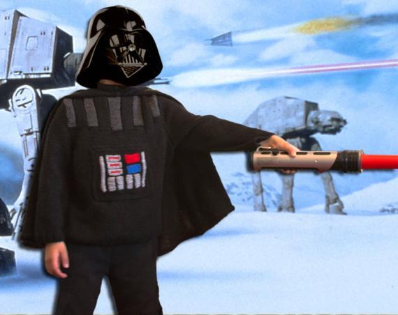 Darth Vader Jumper & Cape Knitting pattern