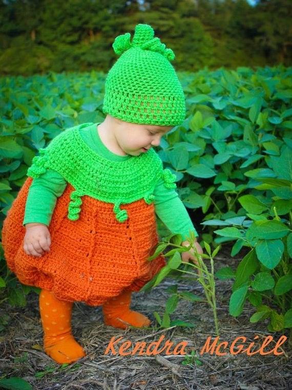 Pumpkin Costume Crochet Pattern