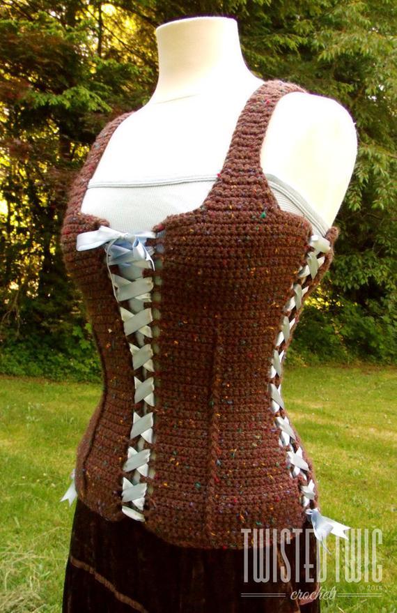 Medieval Corset Crochet Pattern