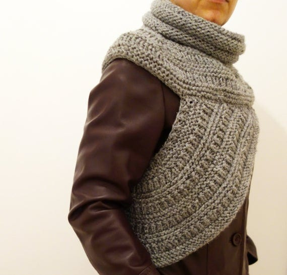 Hunger Games Katniss Inspired Wrap Knitting Pattern