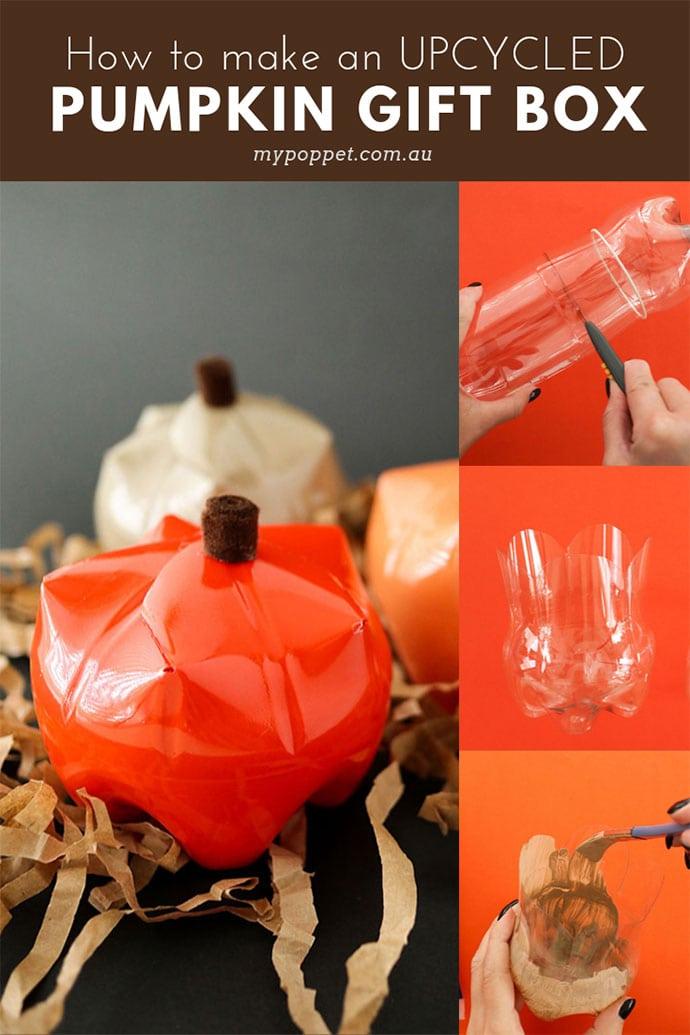 upcycle plastic bottle craft