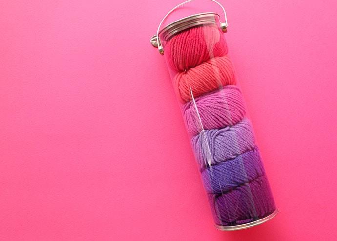 fair isle yarn in tube - mypoppet.com.au