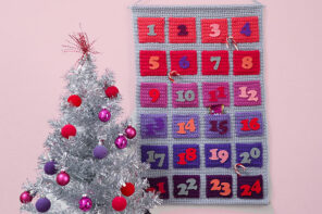Modern Crochet Advent Calendar Pattern