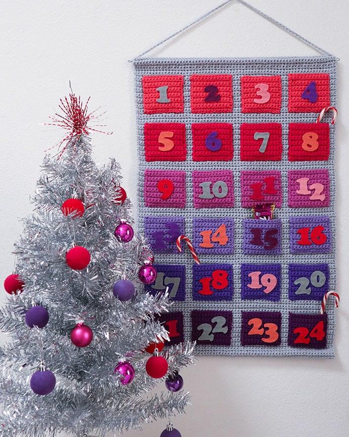 Crochet advent calendar pattern