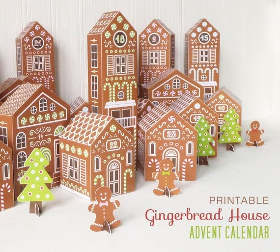 Gingerbread Houses Christmas Village