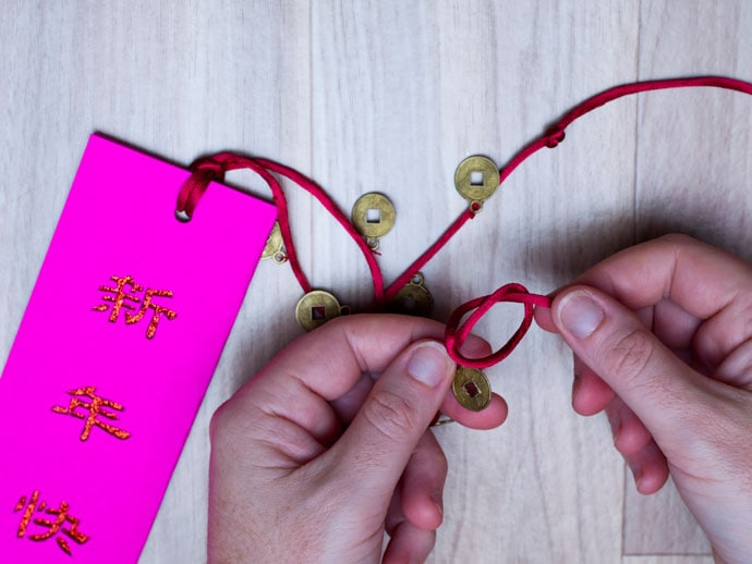 Chinese New Year Bookmark