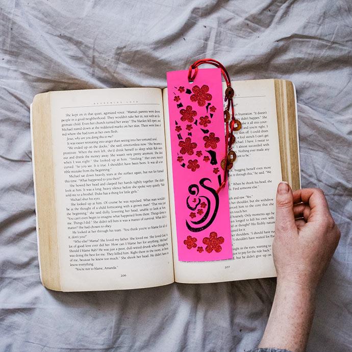 Chinese new year craft bookmark