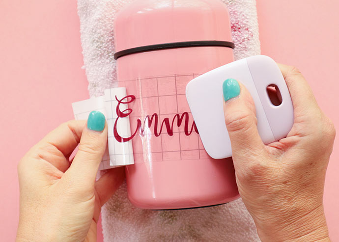 how to make personalized lunch containers