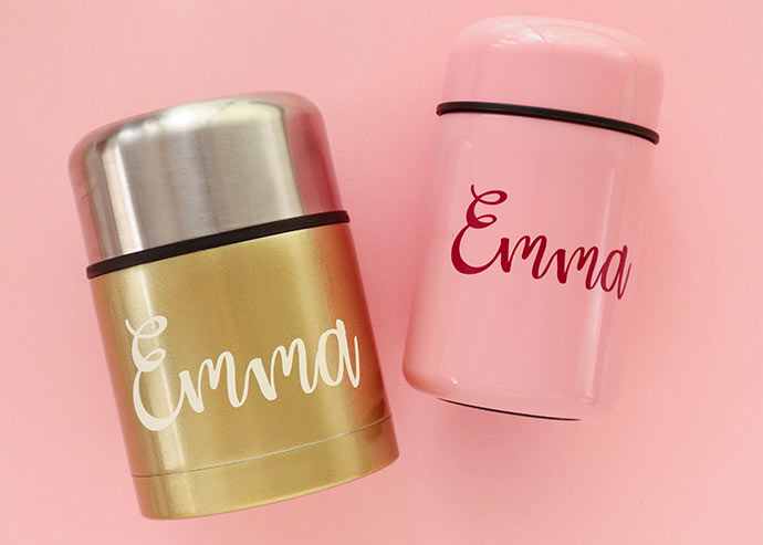 Personalized lunch containers