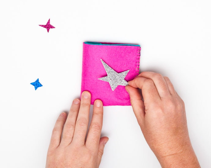 DIY Felt Craft Kids Wallet