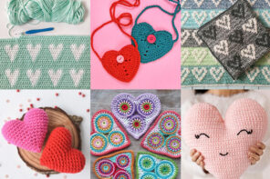 15 Crochet Heart Patterns to make this Valentine's Day