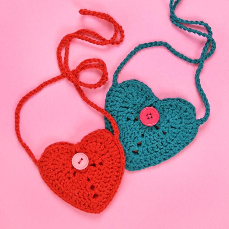 Sweetheart Pouch Crochet Bag Pattern