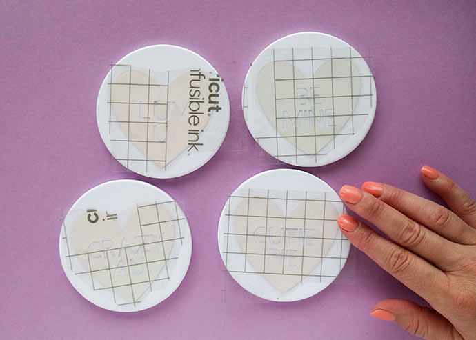 How to make infusible ink ceramic coasters