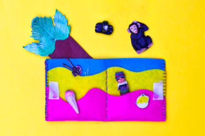 Kids Craft: DIY Kids Wallet Sewing Pattern
