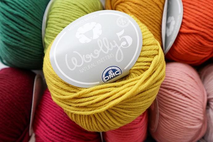 dmc woolly 5 yarn review