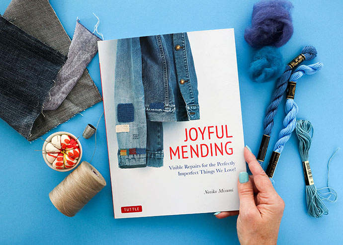 Book cover - Joyful Mending by Noriko Misumi