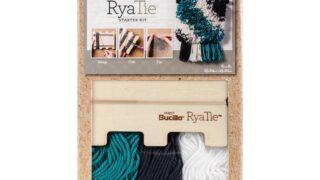 Rya tie Starter Kit - Yarn cutting template