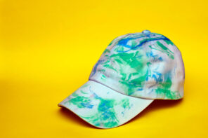 DIY Marbled Baseball Cap