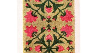 Vintage Rose of Sharon Latch Hook Rug PDF Pattern