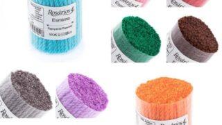 Latch Precut Wool Yarn 10 x Multicolor Pack