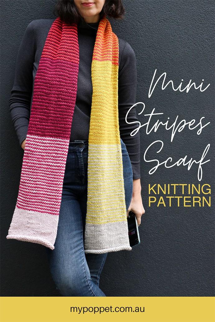 easy scarf knitting pattern