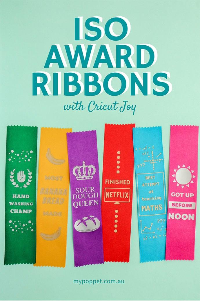how to Make Satin Award ribbons