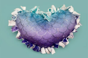 Kids Craft: No-Sew Heart Pillow