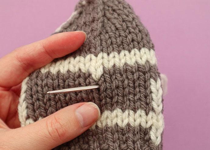 How to do duplicate stitch - mypoppet.com.au
