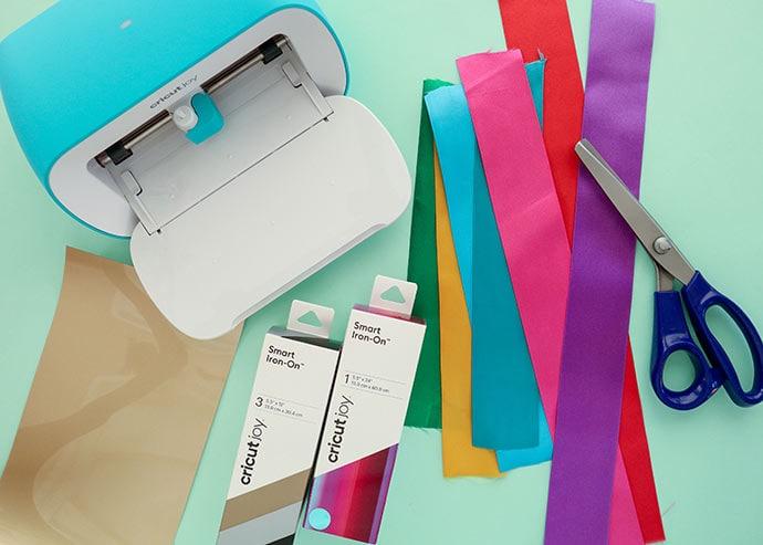 Cricut Joy Award Ribbon Supplies required