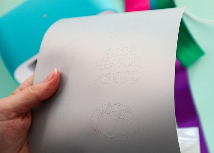 heat transfer vinyl cutting details