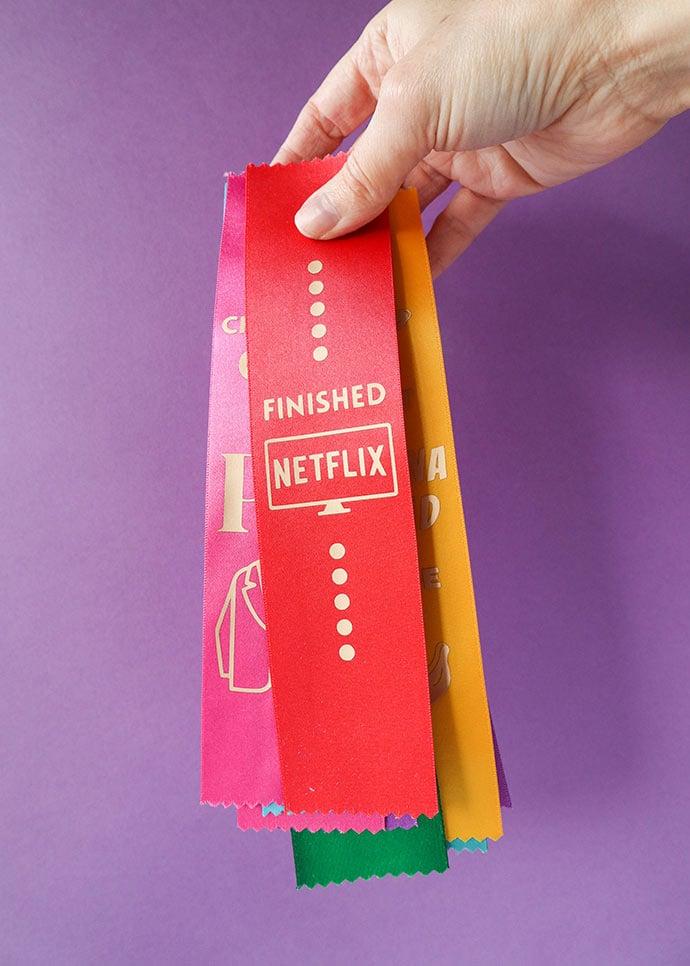 funny award ribbons