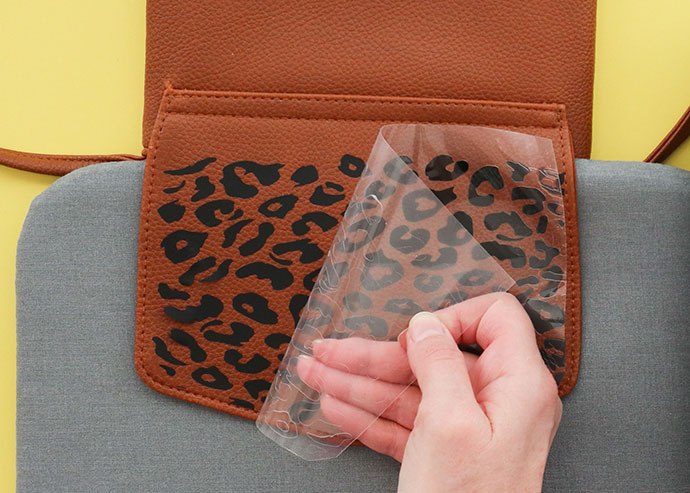 Leopard Print Bag makeover