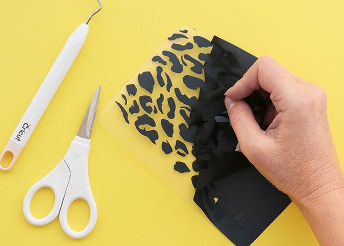 Cricut Joy Smart Iron-on vinyl - leopard print