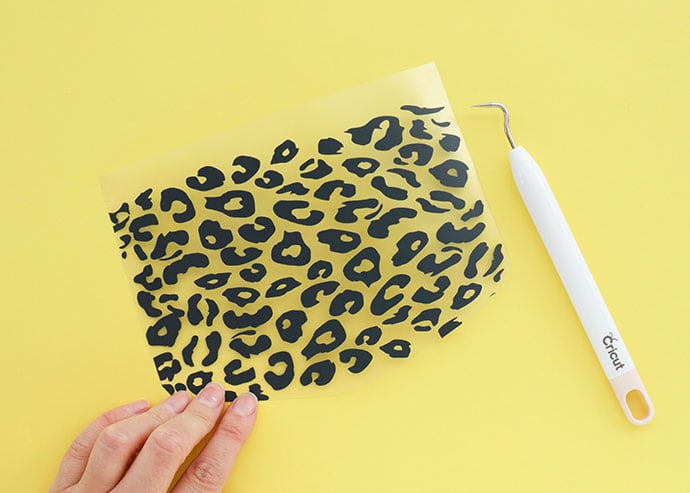 Cricut Joy Smart Iron-on vinyl - leopard print