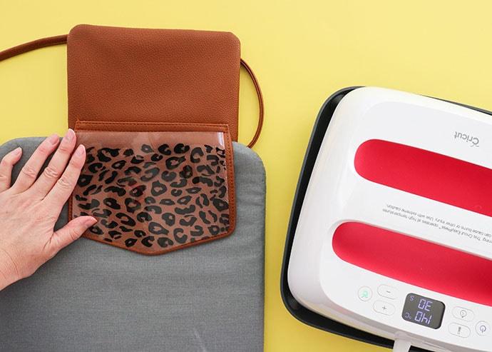 Cricut easy press 2 - iron on bag design