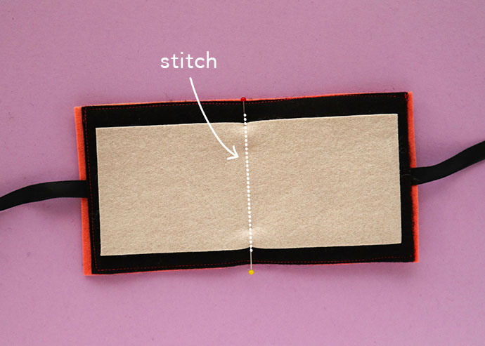 DIY needle book instructions