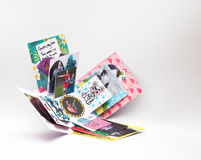 DIY Papercraft Exploding Box - My Poppet Makes