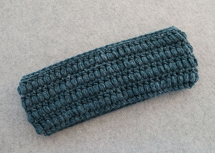 puff stitch crochet cowl pattern