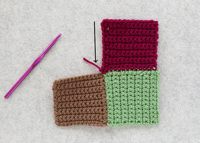 harlequin slippers crochet instructions