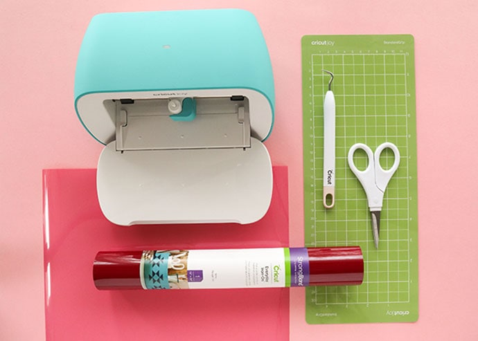 Cricut Joy cutting machine and supplies