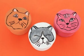 Hand Painted Cat Gift Boxes – For Cat Lovers!