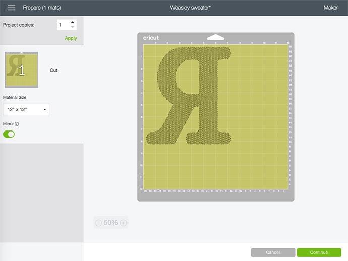 cricut design space tutorial - Mirror