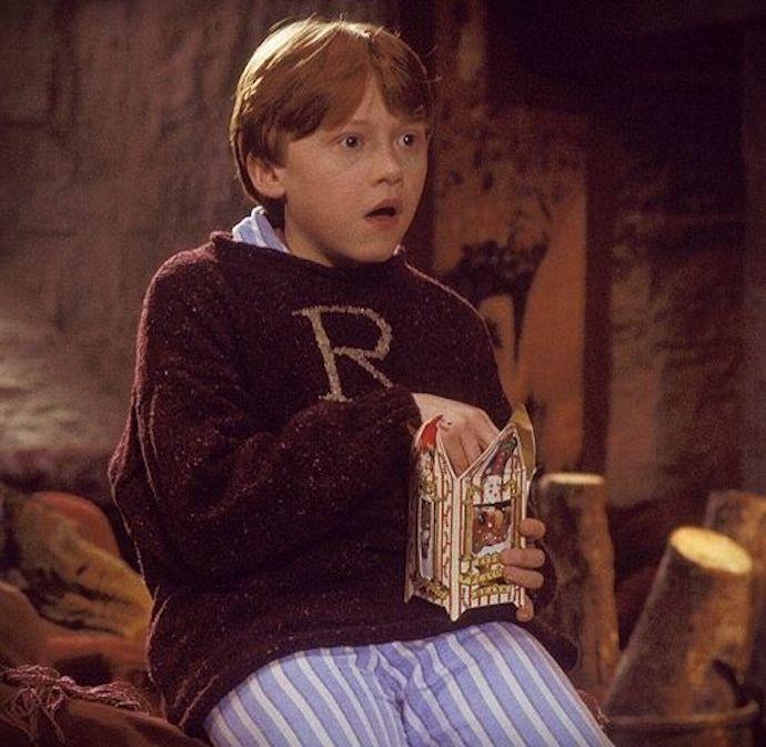 ron weasley eating bertie botts - cosplay idea