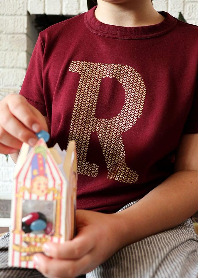 Weasley sweater jumper t-shirt and bertie bott's jelly beans